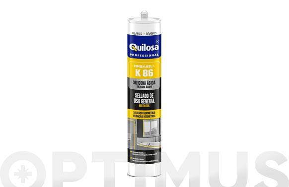 Silicona orbasil k-86 300 ml blanco