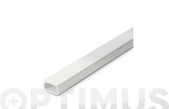 Canaleta adhesiva blanca 21 x 11,5 mm 2 m