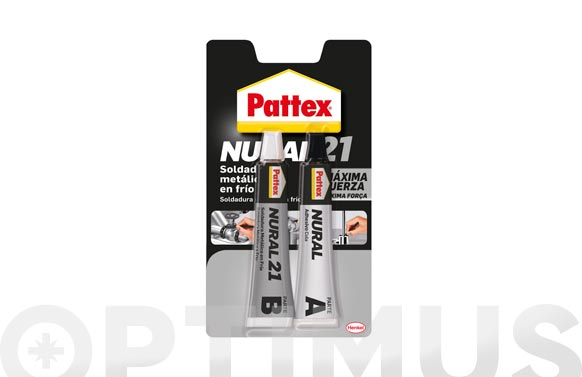 Adhesivo soldadura metales en frio pattex nural 21 120 ml