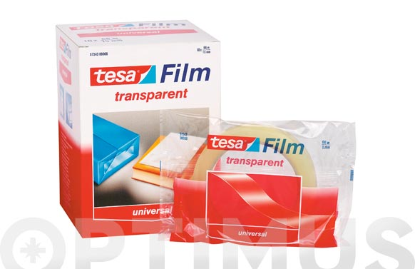 Cinta adhesiva tesafilm 66 m x 15 mm