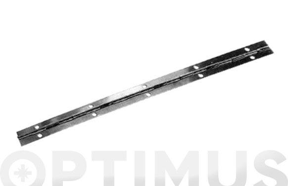 Bisagra piano latonada en rollo 32 mm