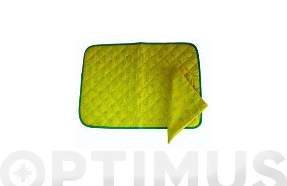 Mantel individual con servilleta 340 amarillo