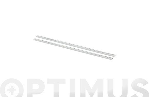 Guia f-doble hierro blanco 2 uds 150 cm