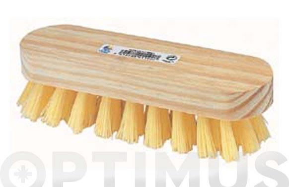 Cepillo manual mexil polipropileno 4 x 9