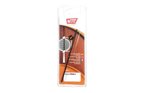 Hoja sierra marqueteria madera 12 uds. 13 cm 2