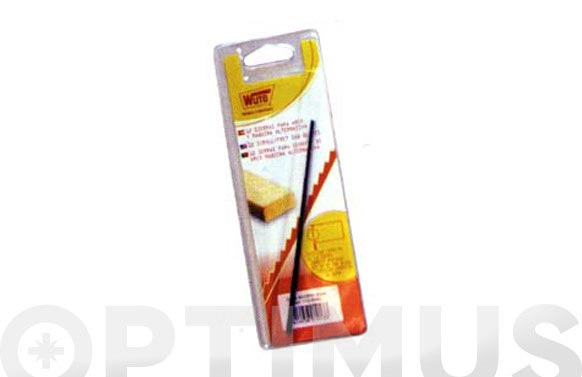 Hoja sierra marqueteria madera 12 uds. 16 cm 6