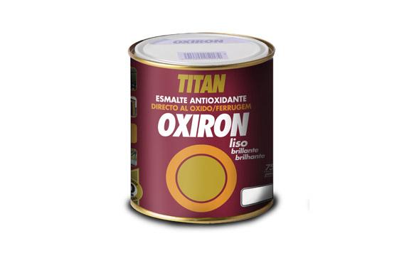 Esmalte oxiron liso 750 ml blanco