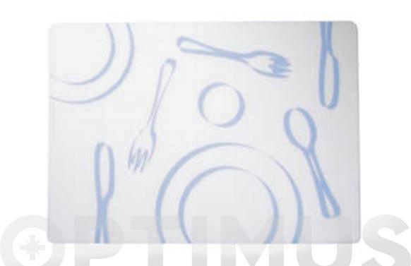 Mantel poliprop.individ. 46x33 pupur