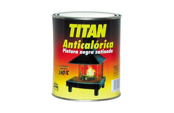 Pintura anticalorica 750 ml negro satinado