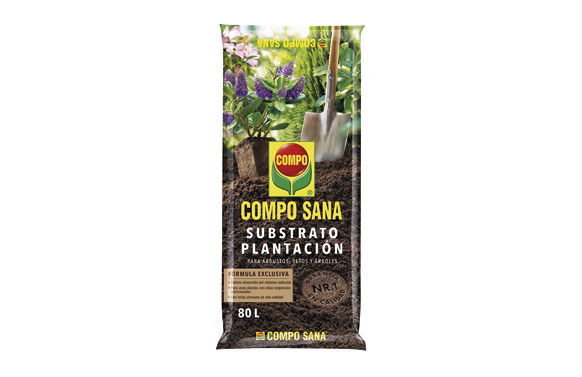 Substrato plantacion compo saco  80 l