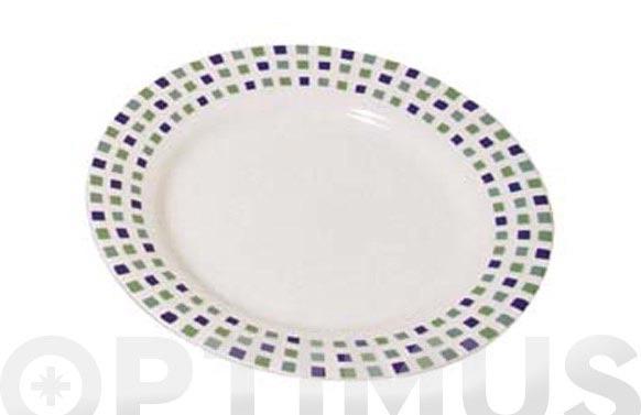 Ensaladera porcelana decorada gaudi 509