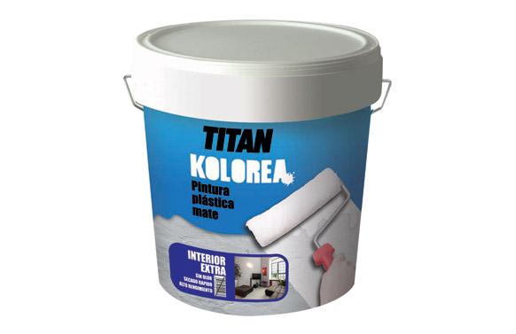 Pintura plastica interior decor 20 kg blanco mate