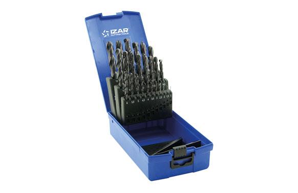 Broca metal standard cilindrica hss din338n juego 1456-1 a 13 mm-25 uds