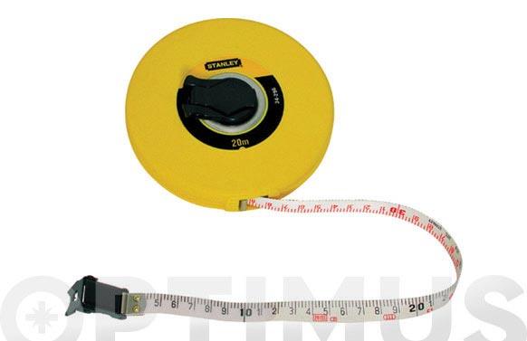 Cinta metrica fibra vidrio 20 m