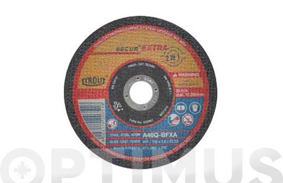 Disco corte acero/inox premium 115 x 1,6 x 22 plano
