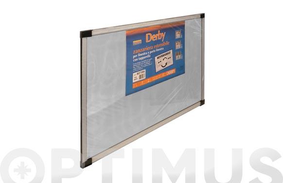 Mosquitera extensible fibra vidrio 40x50-092. blanco