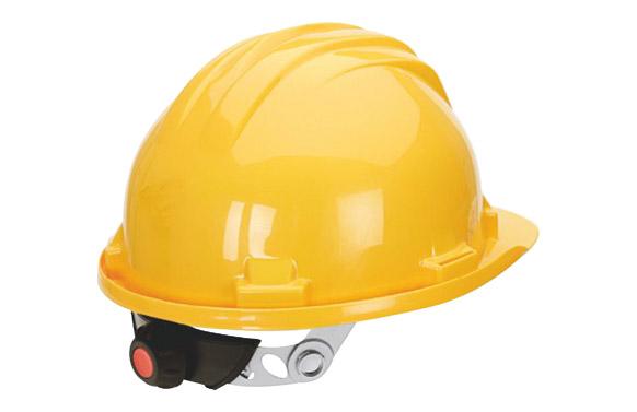 Casco obra con regulacion 5-rg amarillo