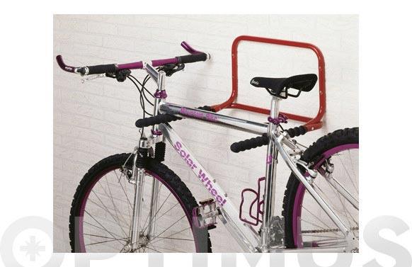 Soporte pared plegable 2 bicicletas