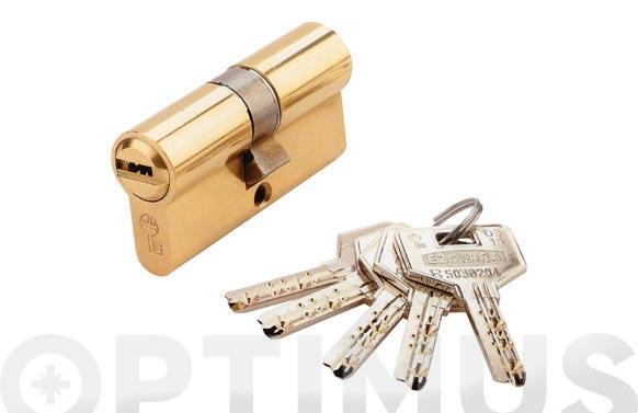 Cilindro ds15 laton llave puntos 30-30