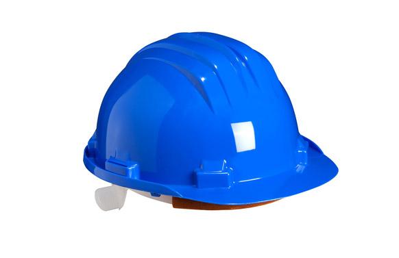 Casco obra homologado 5-rs azul
