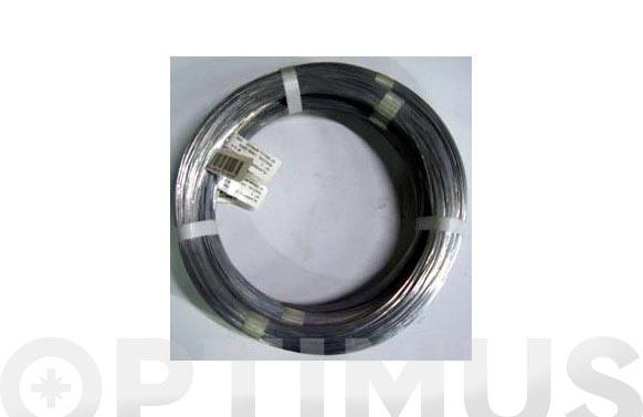 Alambre galvanizado en rollo 1 kg n.16/2,7 mm