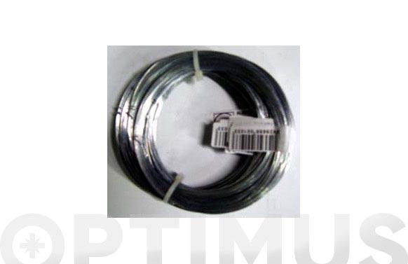 Alambre galvanizado en rollo brico n. 4/0,9 mm