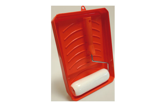 Cubeta con rodillo fibra kit