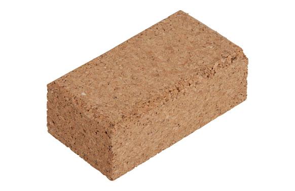 Taco lijar de corcho 123 x 67 x 45 mm
