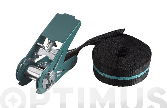Tensor cinta carraca hasta 180 kg 4 mt