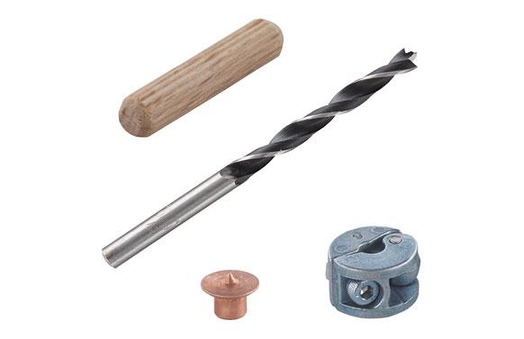 Ensamblar espigas kit 31 piezas ø 6 mm