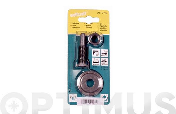 Vastago para disco lijar y pulir taladro-13 mm