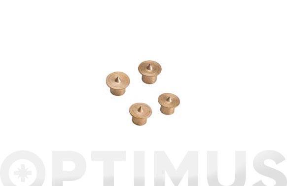Marcador para espigar 4 uds ø 6 mm