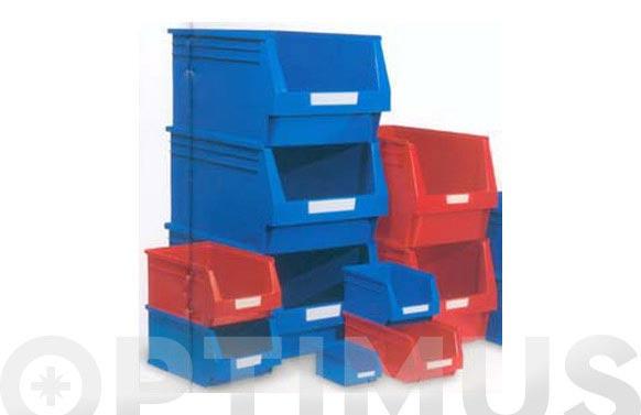 Gaveta apilable plastico n 52 azul 236 x 160 x 130 mm