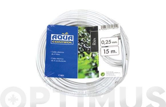 Cable elec.4 hilos aqua center 30 m