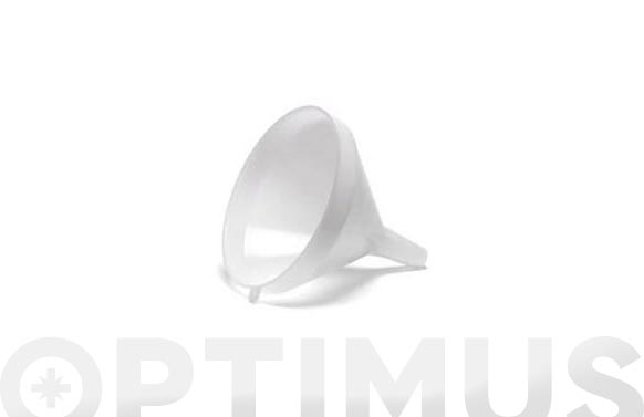 Embudo plastico vibro 250 mm