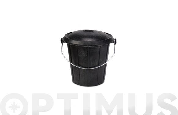 Cubo comunal goma sin tapa n. 2 30 l