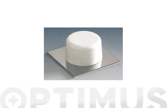 Tope puerta adhesivo blanco 2 unidades