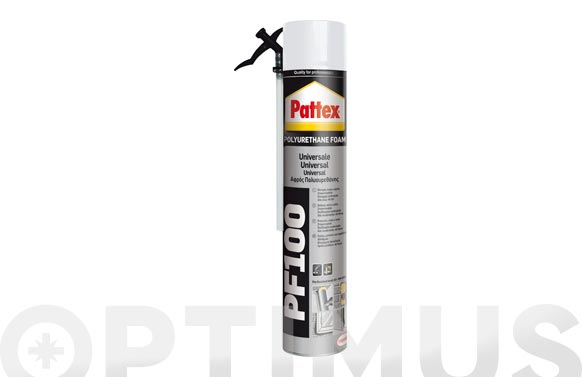 Espuma poliuretano universal pf100 canula 750 ml