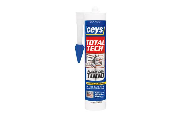 Adhesivo total tech blanco 290 ml