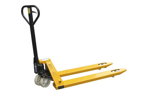 Transpaleta manual 2500 kg ruedas nilon