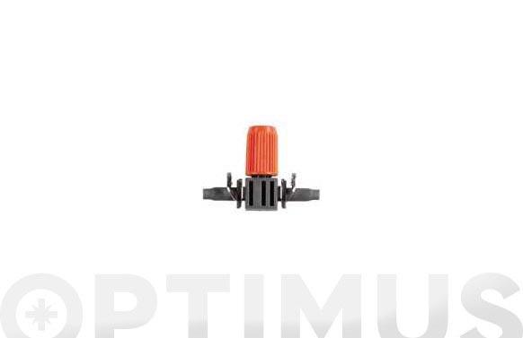 Gotero lineal ø4,6 mm. 3/16 0-20lt/h ajustable 10 uds