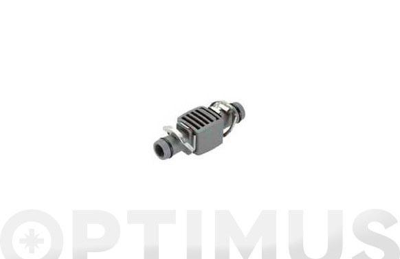 Conector recto micro drip premium 13 mm  1/2  3 uds