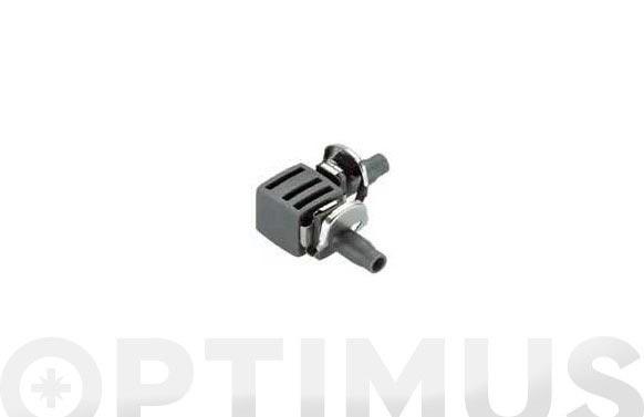 Pieza en  l  micro drip premium 4,6 mm  3/16    10 piezas