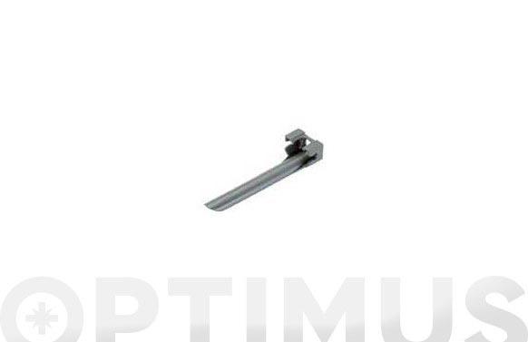 Soporte tubo micro drip  premium  4,6 mm  3/16    3 uds