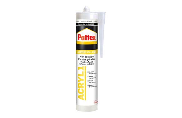 Silicona acrilica juntas acryl 1 300 ml blanco