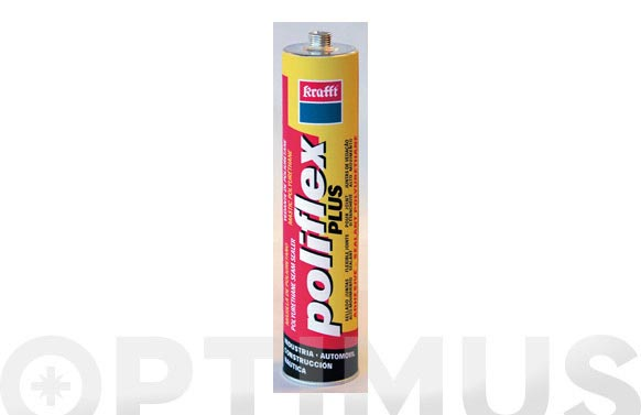 Masilla poliuretano poliflex plus gris 300 ml