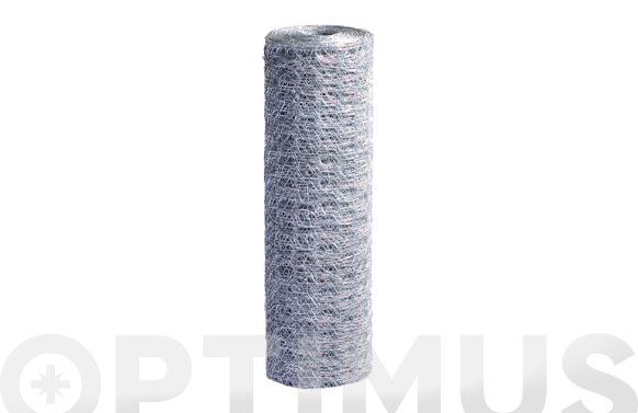 Malla triple torsion luz 1,3 mm / ø 0,8 mm / altura 100 cm