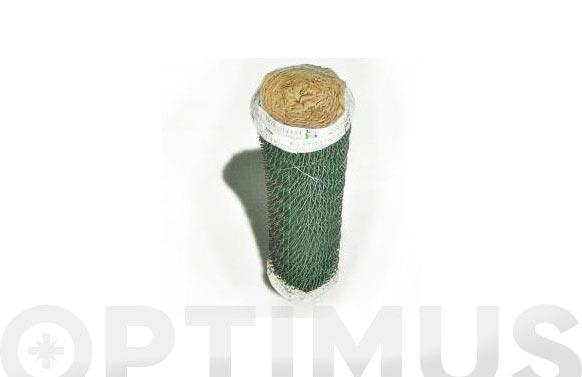 Malla simple torsion plastificada luz 5,0 mm / ø 3,0 mm / altura 150 cm