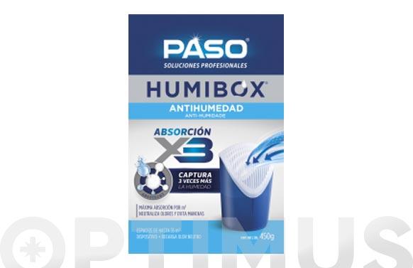 Absorbehumedad humibox dispositivo 450 gr
