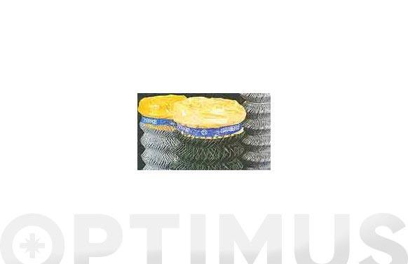 Malla simple torsion plastificada luz 5,0 mm / ø 3,0 mm / altura 200 cm